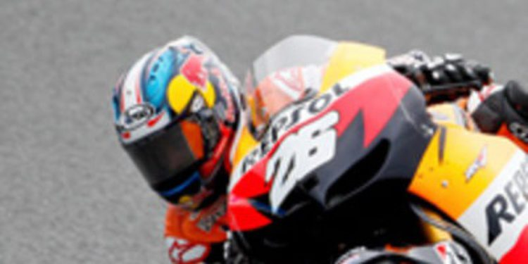 Dani Pedrosa hace valer su motor Honda en los FP3 de Sepang