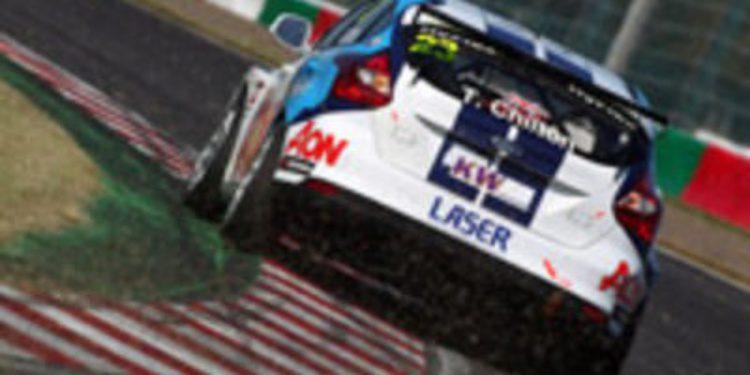 Pole para Menu y título de constructores para Chevrolet