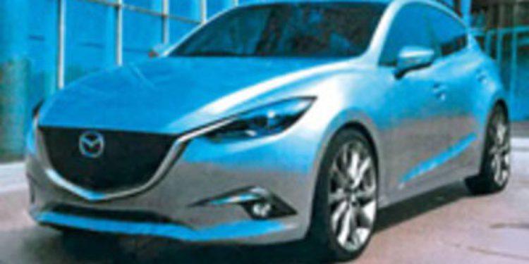Filtrados los renders del nuevo Mazda 3