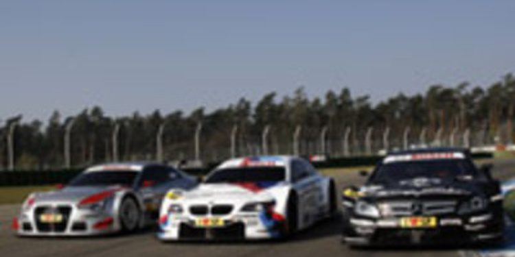 DTM congela las especificaciones técnicas de los coches para 2013