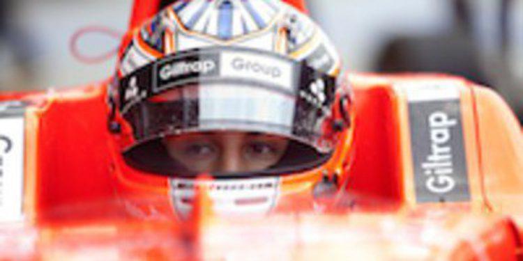 Mitch Evans prueba la nueva generación del monoplaza de GP3 y se subirá por primera vez a un GP2