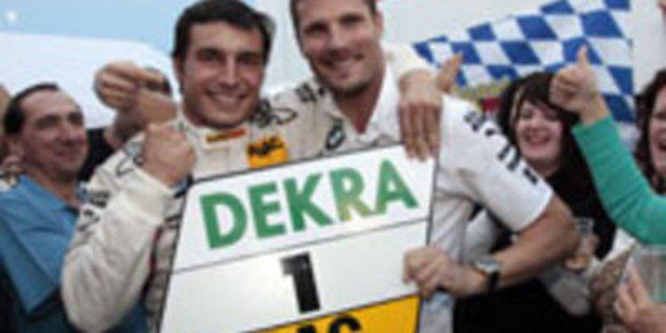 Sensacional triplete de títulos para BMW y Bruno Spengler