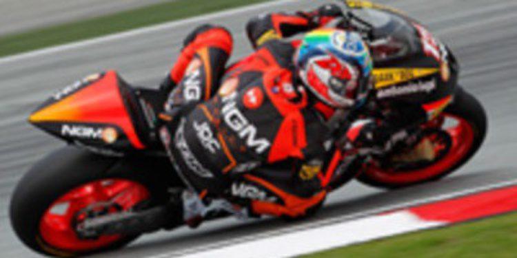 Revolución en Moto2 y MotoGP para el equipo NGM Mobile Forward Racing