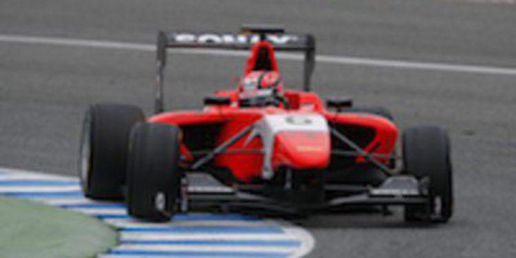 Kevin Ceccon lidera los primeros test post temporada de GP3 a los mandos del MW Arden