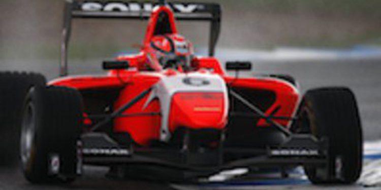 Kevin Ceccon vuelve a ser el más rápido en la última jornada de test de GP3 en Jerez