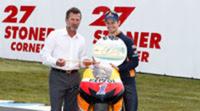 Casey Stoner no concede ni los FP1 de MotoGP en Australia