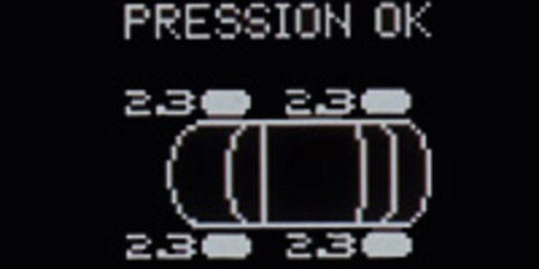 El sensor de presión de neumáticos, obligatorio a partir de noviembre