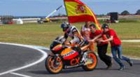Marc Márquez se corona campeón del Mundial de Moto2