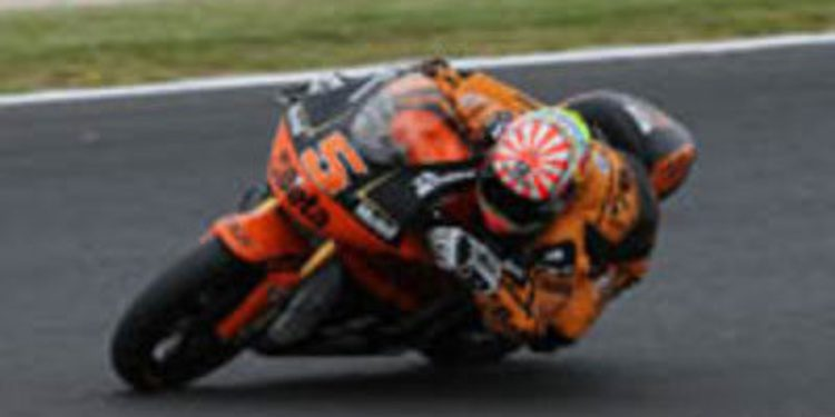 Johann Zarco es proclamado rookie del año en Moto2