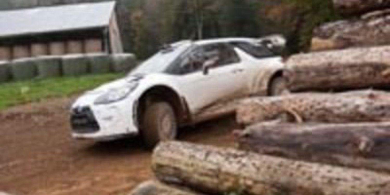 Hans Weijs Jr. de test para el Rally de Catalunya