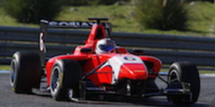 Daniil Kvyat brilla en la primera jornada de test de GP3 en Estoril