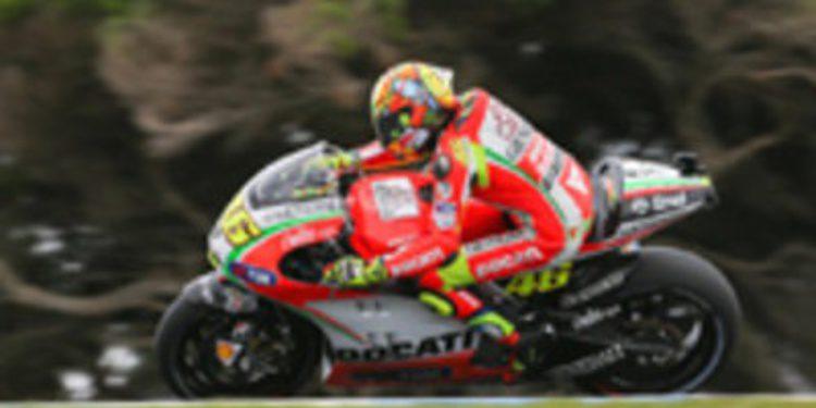 Valentino Rossi disputará su última carrera con Ducati en Cheste