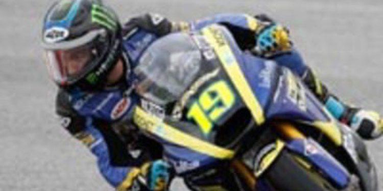 Xavier Simeon se impone en los FP1 de Moto2 en Cheste