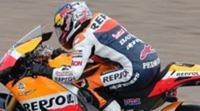Dani Pedrosa impone su ritmo en Cheste al final de los FP3 de MotoGP