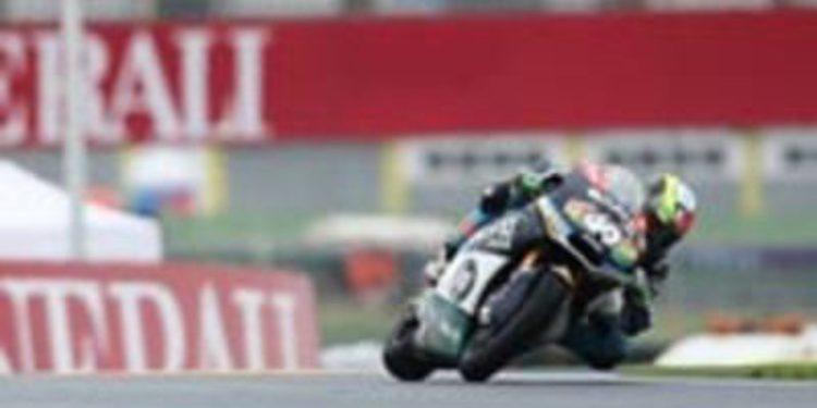 Pol Espargaró lidera los FP3 de Moto2 y Márquez se cae en Cheste