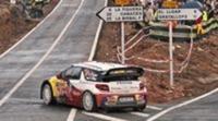 El asfalto de la etapa 2 pone líder a Sebastien Loeb en Catalunya