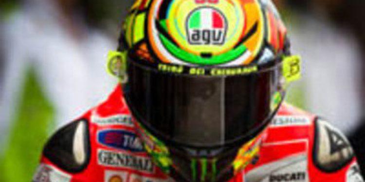 Valentino Rossi termina su tormentosa etapa con Ducati