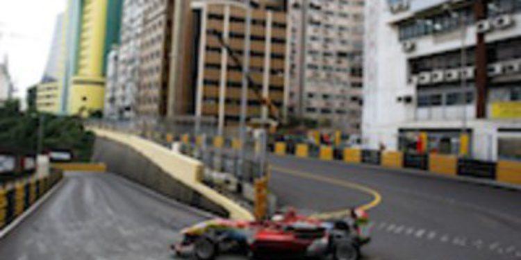 Alex Lynn se hace con la pole para la Qualyfing Race del GP de Macau