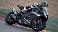 Cuatro equipos cierran el test de SuperBikes en Aragón