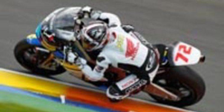 Tadayuki Okada pondrá en marcha el Honda Asia Team Tady en Moto2