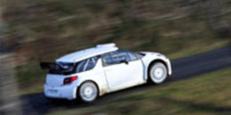 Dani Sordo se sube dos años después al Citroën DS3 WRC