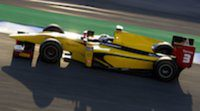 Marcus Ericsson se lleva el mejor tiempo en la primera jornada de test de GP2 en Jerez