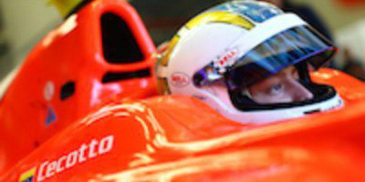 Johnny Cecotto no tiene rival en los últimos test de GP2 del año