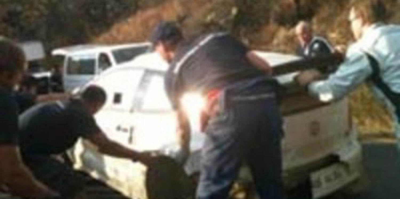 Jari-Matti Latvala sufre un accidente en los test de Volkswagen en México