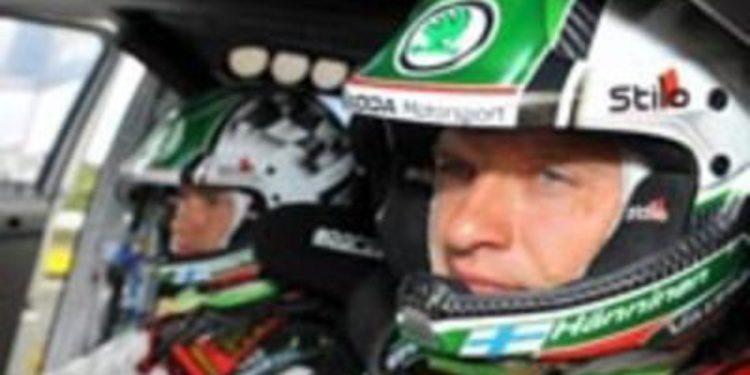Juho Hänninen con programa mundialista sobre un Ford Fiesta RS WRC