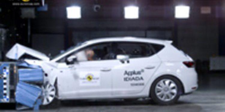 Los nuevos Seat León y Volkswagen Golf pasan por el laboratorio de EuroNCAP