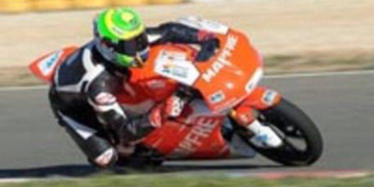 Eric Granado se estrena con el Mapfre Aspar Moto3 en Almeria