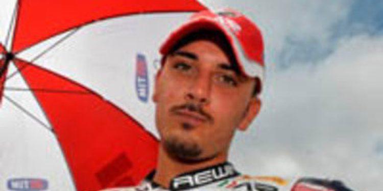 Althea Racing elige a Aprilia y a Davide Giugliano para 2013