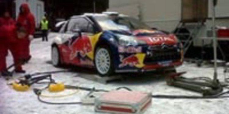 Citroën comienza sus test de cara al Rally de Monte-Carlo