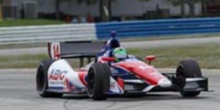 Desarrollo de los test de la IndyCar en Sebring