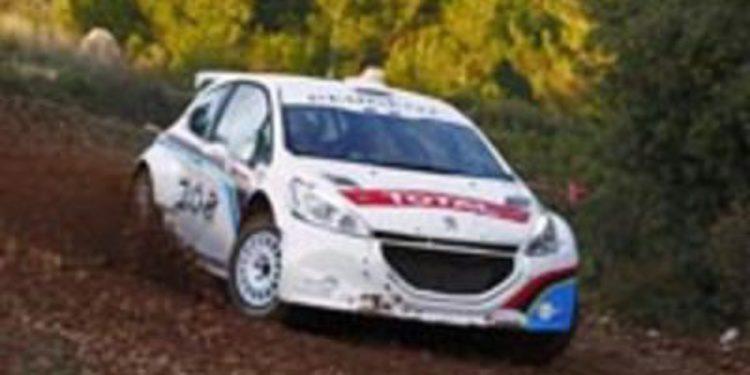 El Peugeot 208 R5 tiene sus primeros test