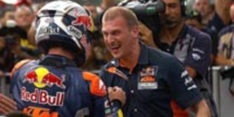 KTM y Aki Ajo firman su acuerdo para 2013 en Moto3