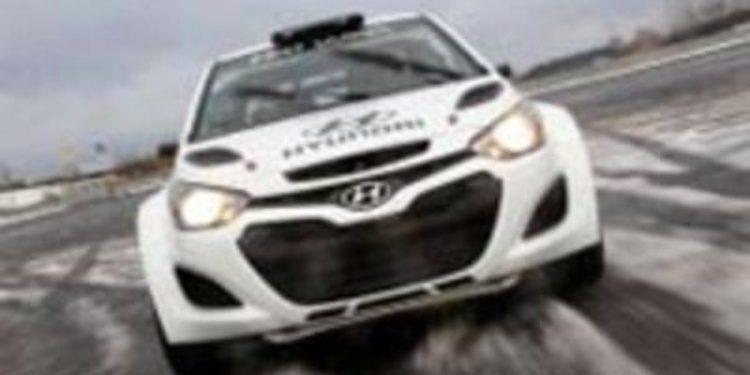 El Hyundai i20 WRC se deja ver ahora en Frankfurt