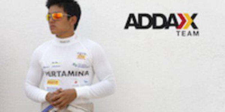 Rio Haryanto ficha por Addax para la temporada 2013 de GP2
