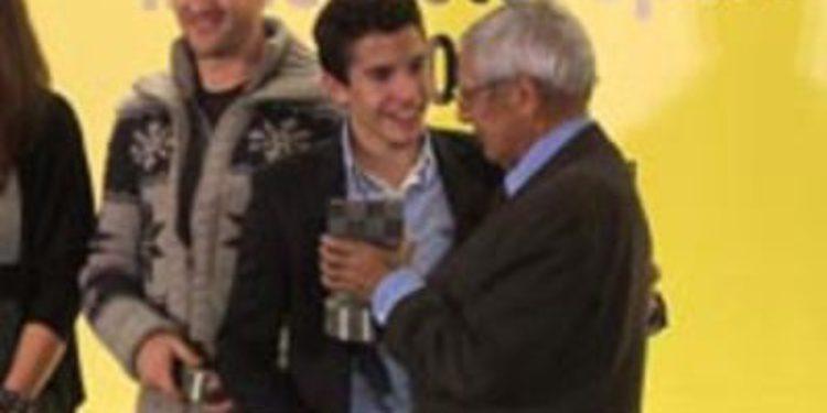 Marc Márquez cierra un exitoso 2012 en la gala del RACC