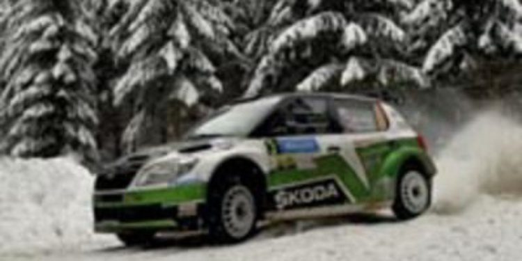 Lista de inscritos del Jänner Rally, primera cita del ERC 2013
