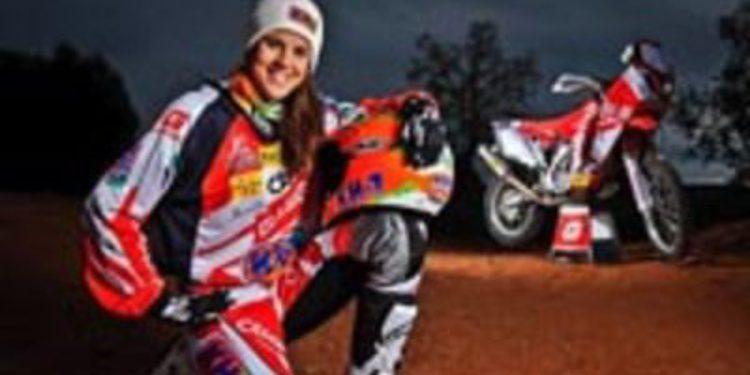 Laia Sanz y Gas Gas irán muy acompañados en el Dakar 2013