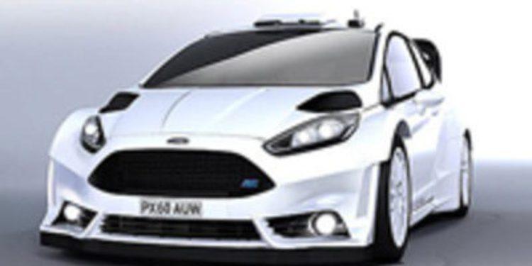 Lavado de cara del Ford Fiesta RS WRC para el Monte-Carlo