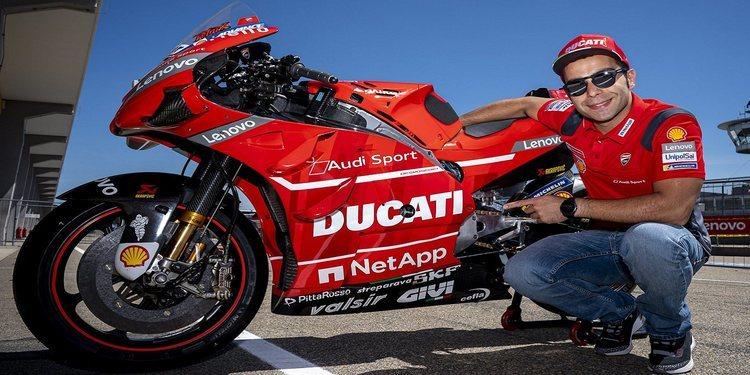 Oficial: Danilo Petrucci renueva con Ducati hasta 2020