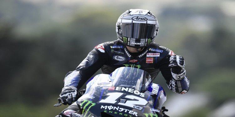 Nuevo podio de Viñales en MotoGP: 'El nuevo embrague me da más confianza'
