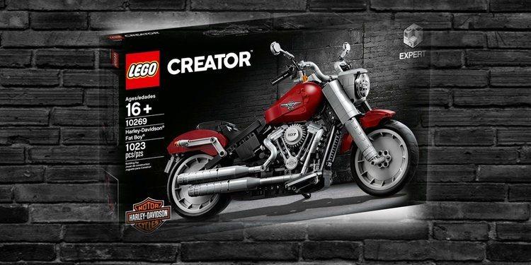 He aquí lo nuevo de Lego, una mini Harley-Davidson