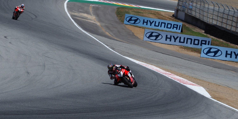 """Chaz Davies: """"Las últimas vueltas fueron complicadas, la moto se movía mucho"""""""