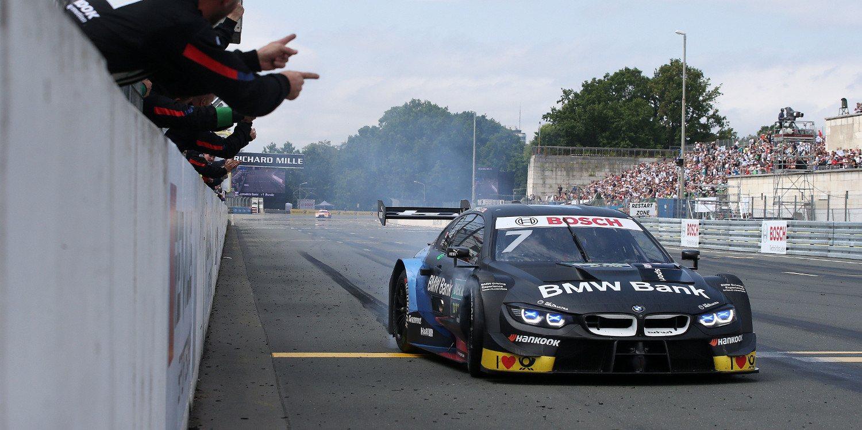 El BMW M4 DTM preparado para el reto del circuito TT de Assen