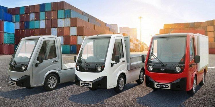 Nueva gama de vehículos comerciales ligeros de Nextem