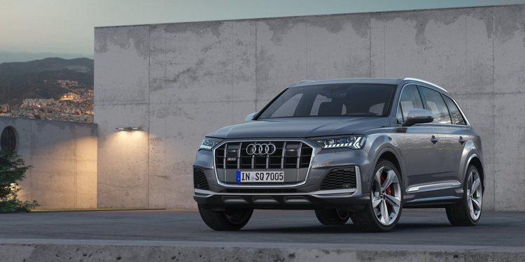 El Audi SQ7 TDI recibe un restyling