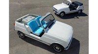 Renault 4L Plein Air, una hermosa réplica electrificada